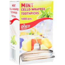 Individually Wrapped Mint Flavor Tooth Pick