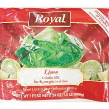 Royal Lime Gelatin
