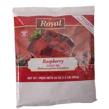 Royal Raspberry Gelatin