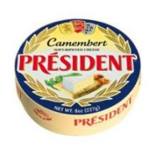 President Soft Ripened Camembert Cheese