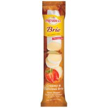 President Plain Soft Ripened Brie Cheese Log