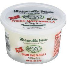 Mozzarella Fresca Fresh Mozzarella 100 Percent Natural Ciliegini Cheese