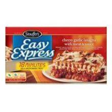 Stouffers Easy Express Cheesy Lasagna