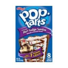 Pop Tarts Ice Cream Shoppe Sundae Hot Fudge Toaster Pastry