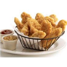 Red Label Premium Golden Crispy Fully Cooked Breaded Chicken Breast Tenderloin
