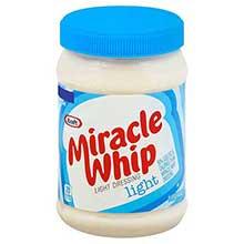 Kraft Light Spoonable Miracle Whip Mayonnaise