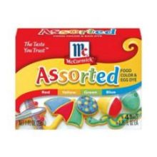 Assorted Food Colors and Egg Dye Seasoning