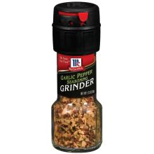 Garlic Pepper Seasoning Grinder