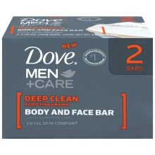 Dove Mens Deep Clean Bar Soap 4.25 Ounce