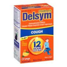 Orange Extended Release Suppressant 12 Hour Cough Relief Liquid 3 Fluid Ounce