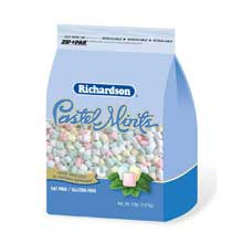 Richardson Pastel Mints - 4 lb. stand up bag