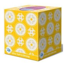 Ultra Soft and Strong Cube Facial Tissue