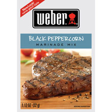 Weber Grill Black Peppercorn Marinade Mix