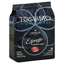 Tassimo Professional Gevalia Roasted Espresso Coffee