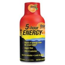 Orange Energy Shot Drink