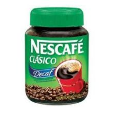 Clasico Decaf Instant Coffee