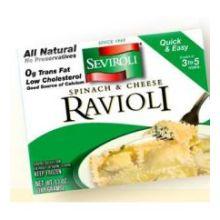 Medium Square Spinach and Cheese Ravioli Pasta