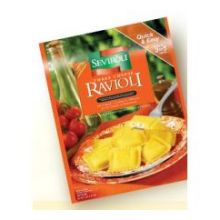Medium Square Cheese Ravioli Pasta 5 Pound