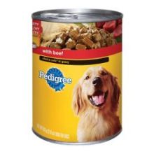 Pedigree Choice Cuts in Gravy Complete Nutrition with Beef for Dog 22 Ounce