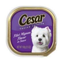 Cesar Canine Cuisine Filet Mignon Flavor in Meaty Juice