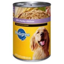 Pedigree Meaty Ground Dinner with Chunky Chicken for Dog 22 Ounce