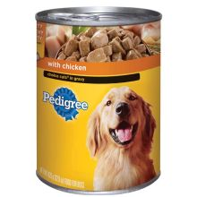 Pedigree Choice Cuts in Gravy Complete Nutrition with Chicken for Dog 22 Ounce
