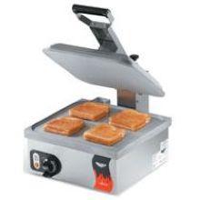 Cayenne Flat Plate Style Natural Finish Sandwich Press
