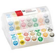 Labelocker Durable Plastic 7 Day Label Dispenser