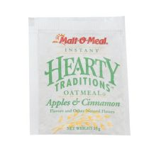 Apple and Cinnamon Oatmeal