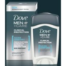 Dove Clinical Protection Clean Comfort Anti Perspirant and Deodorant