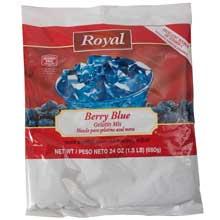Royal Berry Blue Gelatin