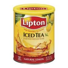 Lipton Sugar Sweetened Lemon Iced Tea Mix