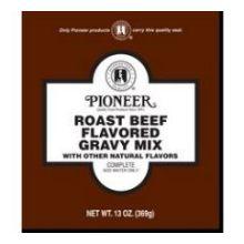 Pioneer Roast Beef Gravy Mix