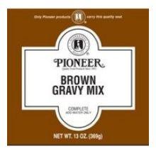 Pioneer Brown Gravy Mix