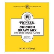 Pioneer Chicken Gravy Mix 14 Ounce
