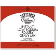 Low Sodium Instant Poultry Gravy Mix