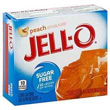Jello Peach Gelatin Dessert