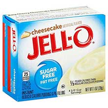 Jello Cheesecake Instant Pudding and Pie Filling