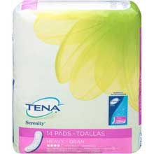 Tena Serenity Regular Heavy Absorbency Pads 14 ct. Pack