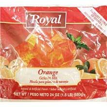 Royal Orange Gelatin