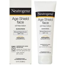 Age Shield Broad Spectrum SPF 110 Oil Free Sunblock Face Lotion