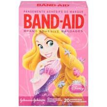 Band-Aid Disney Princess Assorted Size Adhesive Bandages 20 ct Box