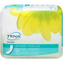 Tena Serenity Moderate Pads 20 ct Pack