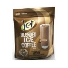 Jet Tea No Sugar Added Mocha Blended Iced Coffee Mix