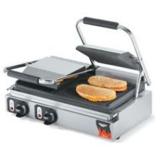 Cayenne Grill Double Panini Style Cast Iron Plate Sandwich Press