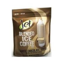 Jet Tea White Chocolate Mocha Blended Iced Coffee Mix