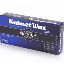 Kabnet Wax White Interfolded Heavy Weight Dry Wax Deli Paper