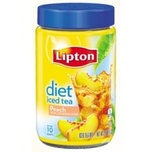 Diet Peach Iced Tea Mix