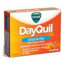 Vicks Dayquil Cold and Flu Relief Liquicaps