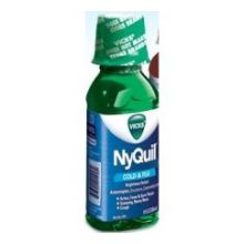 Vicks Nyquil Original Cold and Flu Relief Liquid